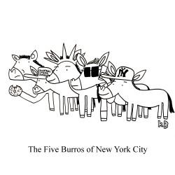 Five Burros