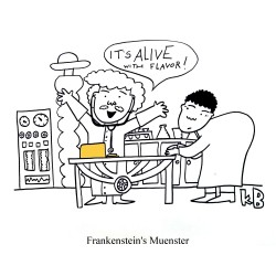 frankstein's muenster